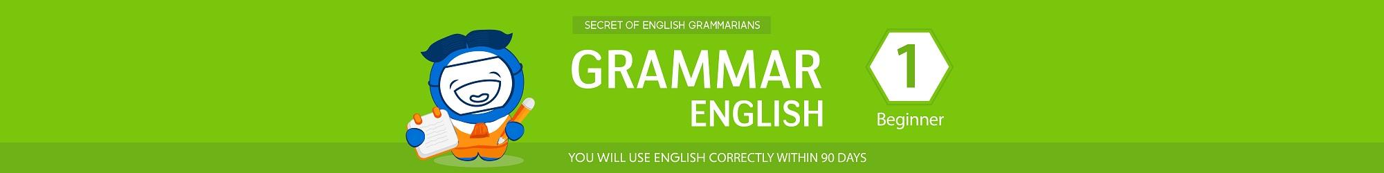 BASIC GRAMMAR banner